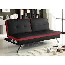 sofas center  contemporary futon sofa with storage modern sleeper
