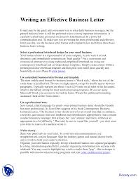 Basic Business Letters Writing An Effective Business Letter Business Communication