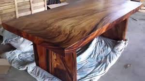 Natural Wood Dining Tables Natural Wood Slab Dining Table For Your Home Black Wooden Coffee