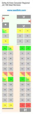 Canadair Regional Jet 900 Seating Chart Delta Airlines Canadair Regional Jet 700 Seating Chart