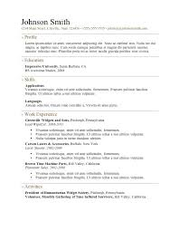 Word Online Resume Template Best Of Free Resumes To Download Free Resume Templates Word Online For 24