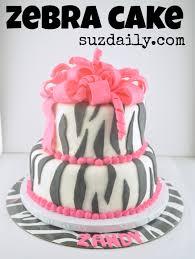 zebra birthday cake for teen girls. Fine Teen Zebra Cake 3 On Zebra Birthday Cake For Teen Girls A