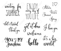 Lettering Photography Overlay Set. Motivational Quote. Sweet ...