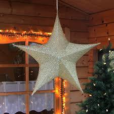 Advents Weihnachtssterne Großer Deko Stern 80 X 75 Cm Rot