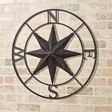 wall stylish design ideas compass wall art com earhart tuscan slate decor canada uk red