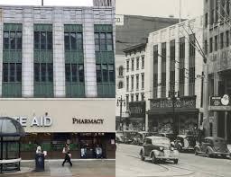 north pearl street rite aid building historical comparison