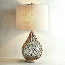 fillable table lamps full clear glass lamp base image with remarkable aqua blue mission style tall red small for bedroom shades colored contemporary square