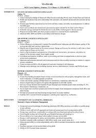 Logistics Specialist Resume Sample Senior Logistics Specialist Resume Samples Velvet Jobs 4