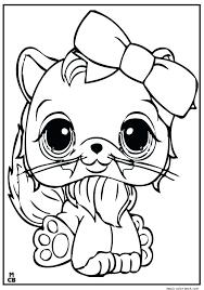 Littlest Pet Shop Coloring Pages Free Gyerekpalotainfo
