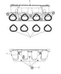 2009 chrysler pt cruiser intake manifold diagram i2221200