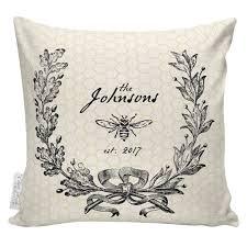Elliott Heath Designs Cotton Anniversary Personalized Gift Anniversary Gift Bee