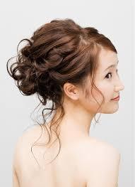 美容院でセットしてもらう結婚式の髪型 ミディアム編 結婚式髪型