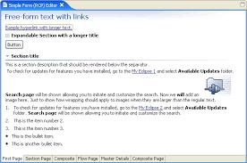 Eclipse Forms: Rich Ui For Rich Client Applications