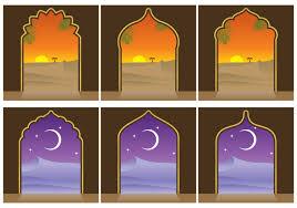 Door Vector Design Islamic Door Free Vector Art 21 Free Downloads