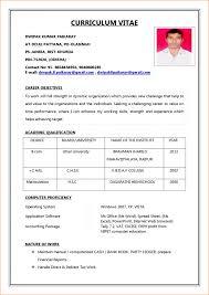 Resume Resume Format Editable Fresh Indian In Word File Google