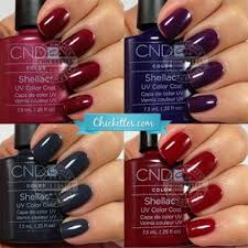 Cnd Shellac Swatches Chickettes Natural Nail Studio Boutique
