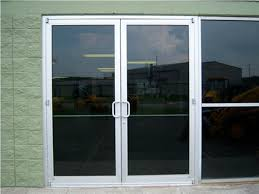 commercial double glass entry cross aluminum commercial entry commercial double glass entry doors glass entry doors double doors exterior photo 11