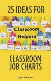 Classroom Monitors Chart 38 Ideas For Flexible Fun Classroom Job Charts Classroom
