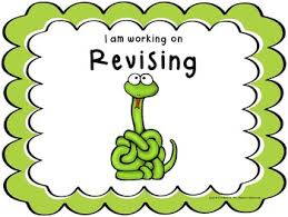 Writing Process Clip Chart Posters Snake Theme