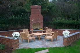 brick outdoor fireplace kits build your own uk nz laying for