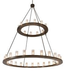 72 wide loxley 36 light two tier chandelier 202215