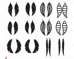 feather template feather template etsy