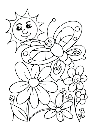 Coloring Pages For Kindergarten Free Colouring Worksheet For Kids