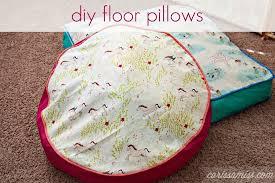 floor pillows diy. Floor Pillows Diy