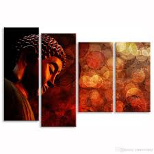 buddha canvas prints modern home decoration canvas wall art for home and office decor unframed30cmx60cmx2 30cmx80cmx2 home wall decor buddha canvas printing  on customizable canvas wall art with buddha canvas prints modern home decoration canvas wall art for home