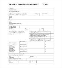 Nonprofit Business Plan Template Score Nonprofit Business Plan Template