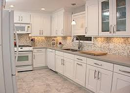 Kitchen Cabinets. kitchen cabinets and backsplash ideas: white ...
