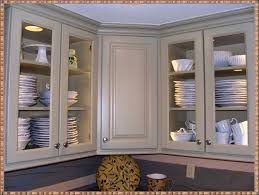 Glass Upper Kitchen Cabinets Cabinet Doors Beautiful The Luxury