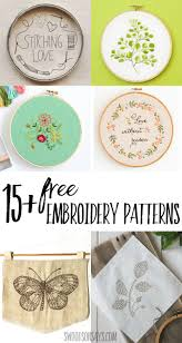 Embroidery Patterns Free Inspiration 48 Free Hand Embroidery Patterns Swoodson Says