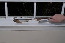 repair a rotted window sill