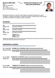 formato curriculo word 50 modelos de curriculum vitae para descargar gratis en word