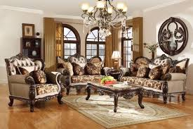 living room antique furniture. Antique Style Wing Back Sofa \u0026 Love Seat French Provincial Living Room Set Furniture