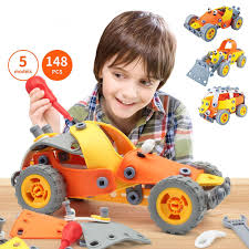 148 pcs 5-1 Build\u0026Play Toy Set   Kids STEM Educational DIY Building Kit for 6 years old and above Boys Best Creative Fun Gift . 5 1