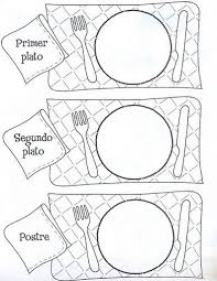 bbff7d8c792118f818d4080561fc2b74 82 best images about scrap cocina on pinterest printable on spanish postcard template