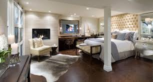 Unfinished Basement Bedroom Ideas Two White Square Freestanding ...