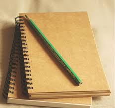 blank drawing book vine kraft paper coil notebook blank sketch book creative sketch ans coloring pages