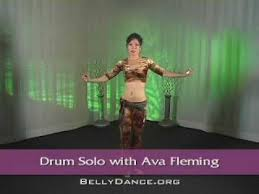 Learn Belly Dance Drum Solo with Ava Fleming - YouTube
