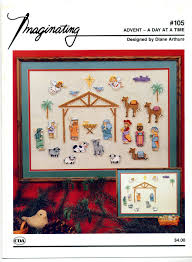 Diane Arthurs Cross Stitch Designs Imaginating Advent A Day At A Time 105 Diane Arthurs