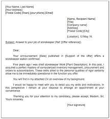 Sample Resume For Storekeeper In Construction Best of Storekeeper Cover Letter Sample Httpexampleresumecvorg