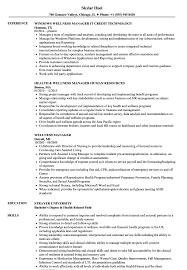 Wellness Manager Resume Wellness Manager Resume Samples Velvet Jobs 1