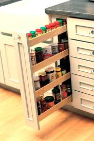 diy pull out spice rack drawer spice rack thin vertical pull out spice rack cabinet from diy pull out