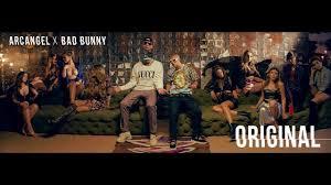 Resultado de imagen para Arcangel Feat. Bad Bunny - Original [Official Video]