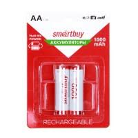 <b>Аккумулятор AA SmartBuy</b> R6 NiMh 1000mAh (блистер 2 шт), арт ...