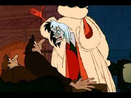 Image result for cruella deville cartoon