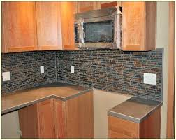 slate backsplash slate mosaic tile slate and glass kitchen backsplash