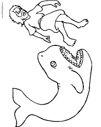 Jonah Coloring Pages And The Whale Coloring Pages And The Whale